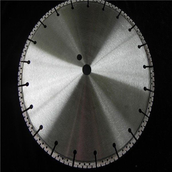 diamond vacuum brazed cutting blade for concrete cutting
