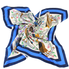 Digital Print Custom Design Scarf Women Hijab Silk