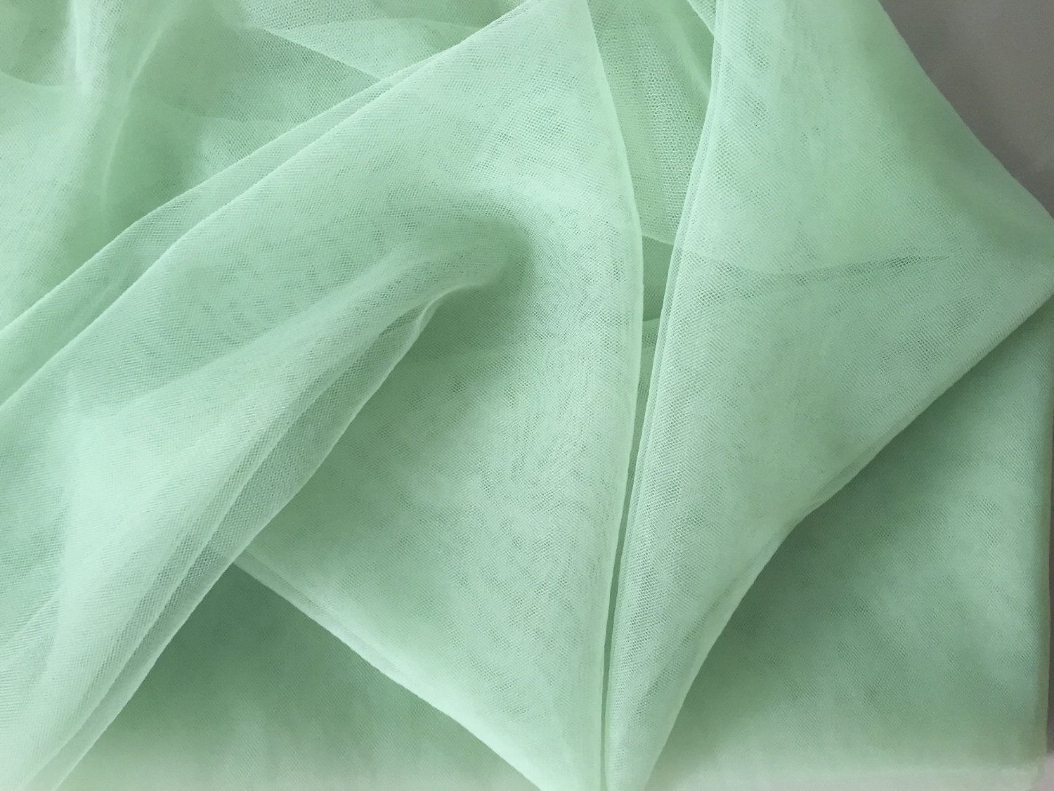 """Shatex 60""""-W x 5 yard-L DIY Fabric Mosquito Net for Wedding & Bedding, Insect Barrier Net, Olive Green"""