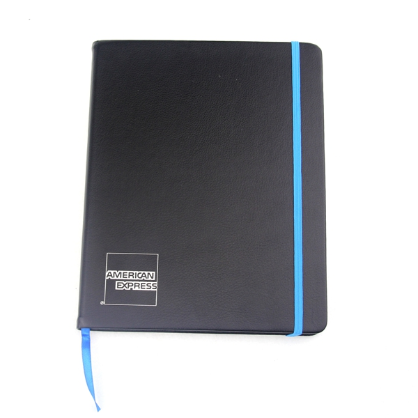 Good design custom PU leather journal diary leather notebook for promotion