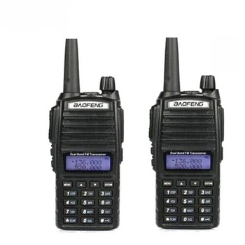 New Portable Radio Walkie Talkie baofeng mobile radio UV-82 With Earphonewalkie talkie Baofeng UV 82 UV82