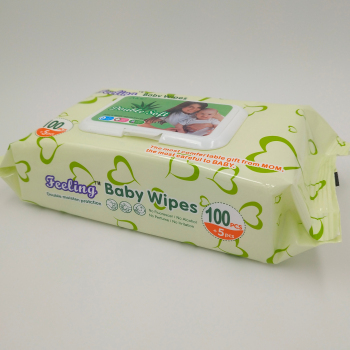 OEM logo individually wrapped wet tissue wipes