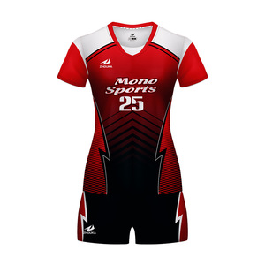 latest cheap online finished custom design sublimation mens team volleyball jerseys