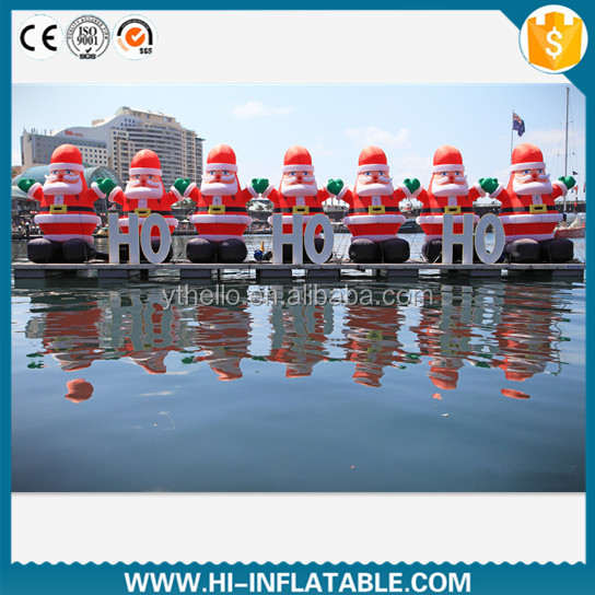 Giant christmas use outdoor inflatable santa claus decoration