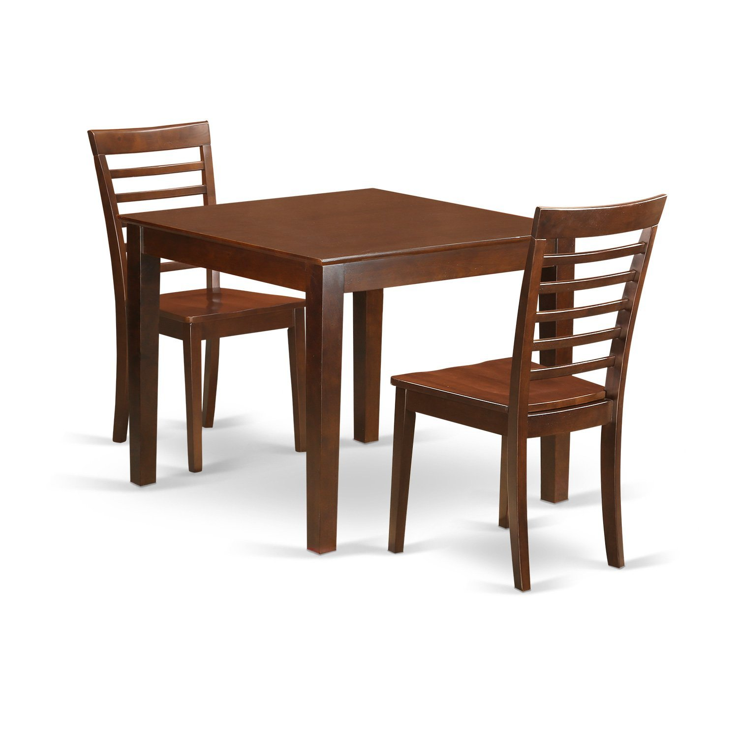 Get Quotations · East West Furniture OXML3 MAH W 3Piece Kitchen Table Set  With One Oxford Dining