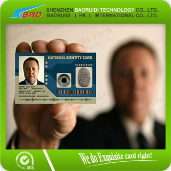 custom design 0 76mm plastic id badge cards buy office id card