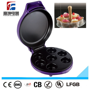 Hot sale! 7 holes cup cake maker , mini cake maker