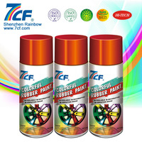 450ml Colorful Car Rubber Spray Paint Film Manufacturers