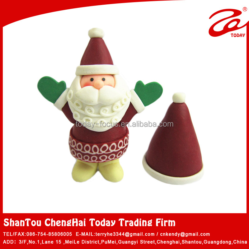 wholesale polymer clay santa claus costume