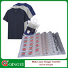 Qing Yi most adhesive sticker care printing for cotton