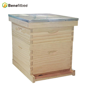 OEM Factory Price Langstroth Wooden Beekeeping Honey Bee Hive