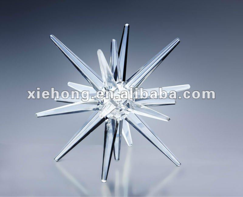 2012 high crystal acrylic twinkling LED christmas lighting
