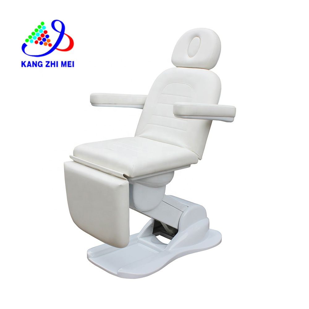KANGMEI wholesaler massage table metal legs for hydraulic facial bed and lash bed KM-8831
