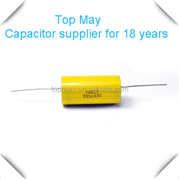 CE certified polyester film capacitor CL11 for radio meter made in China