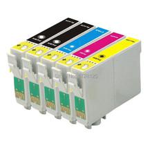 5x T200 XL Ink Cartridge Fit WF2510 WF2520 WF2530 XP200 XP300 XP400 XP310 XP410 Printer