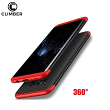360 Full Body Protection Slim Armor Matte Hard Case For Samsung Galaxy S8 Plus Note 8 Phone Cover For Samsung Note 8 Case