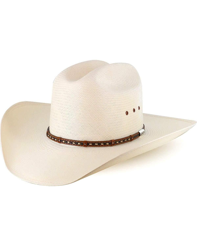 5fe70ac1 Buy Stetson Mens Royal Flush 10X Shantung Straw Cowboy Hat in Cheap ...