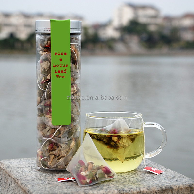 Premium 100% Natural Vegan Vegetarian Rose and Lotus Leaf Tea - 4uTea | 4uTea.com