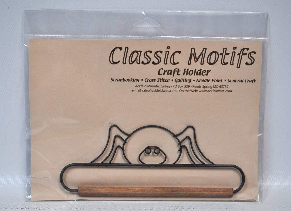 Classic Motifs 6.5 Inch Spider Craft Holder