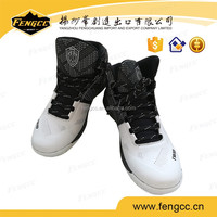 American style PU material sports basketball shoes and sneakers for men