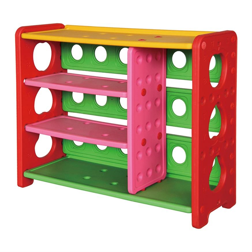Plastic Bookshelf For Kindergarten