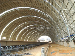 Wide Used Durable Steel Structure Coal Shed