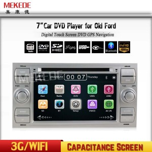 Cheap price car dvd player GPS navigation for Ford F OCUS Mondeo S-MAX C-MAX Galaxy support 3G BT dvd radio maps
