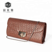 Classic chain shoulder envelope purse party bags for women