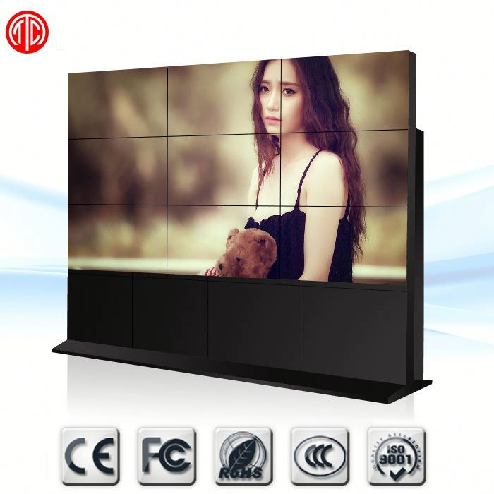 Ultra Narrow Bezel tv 55inch 5.3mm slim bezel 450nits original samsung lcd video wall