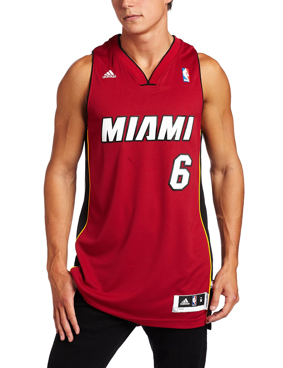 sale retailer 61ae6 92161 Buy NBA Miami Heat LeBron James Swingman Jersey, Maroon in ...