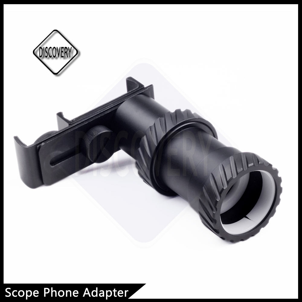 2016 top sale mounts for riflescope Discovery riflescope phone mount adaptor for air soft guns