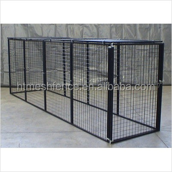 Large Dog Run Chain Link Animal Cage Soft Portable Garden Fence Panel