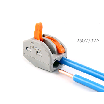 Excellent Quick Connect Cable Terminal Blocks Wire Spring Connectors Pct 212 Wiring Digital Resources Sapredefiancerspsorg
