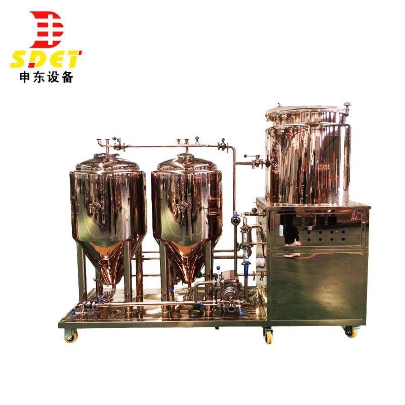 50L copper micro beer brewery equipment tank