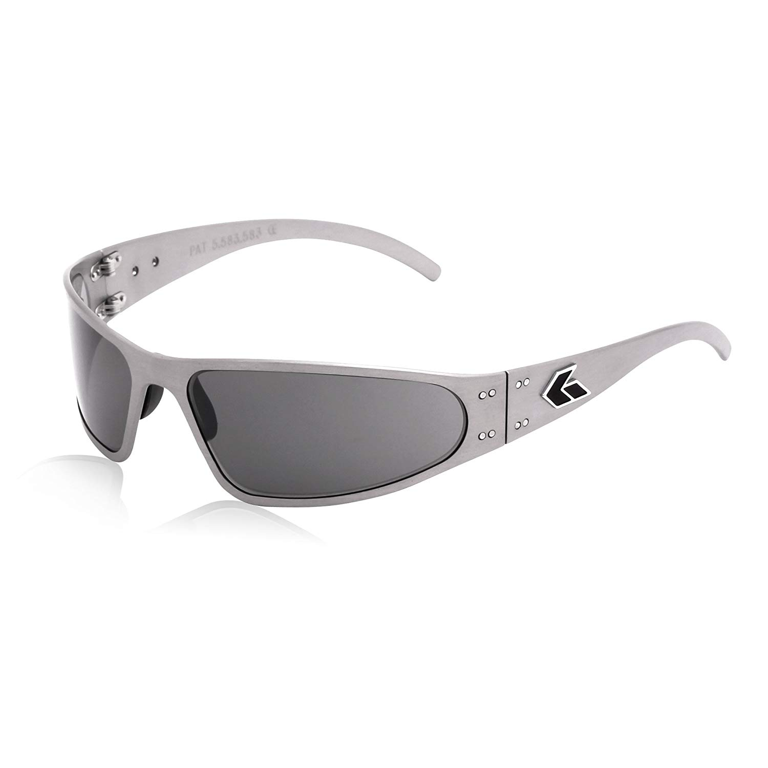 9ddded11136c Get Quotations · GATORZ Wraptor Sunglasses, Metal Aluminum Frame, Military  Tactical Style, Made in USA