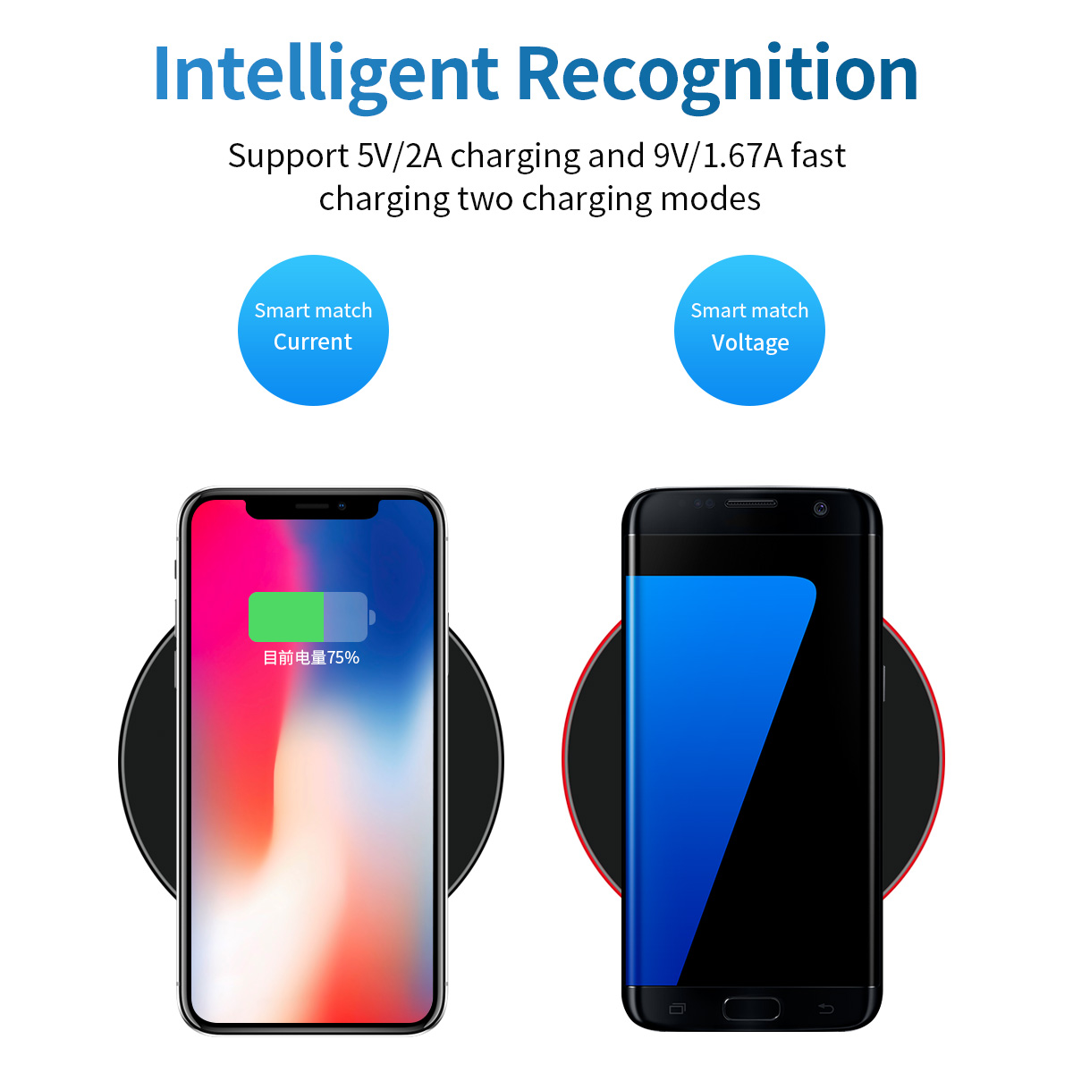 3 in 1 wireless charger 10W high quality wireless charger stand for iPhone wireless car home charger