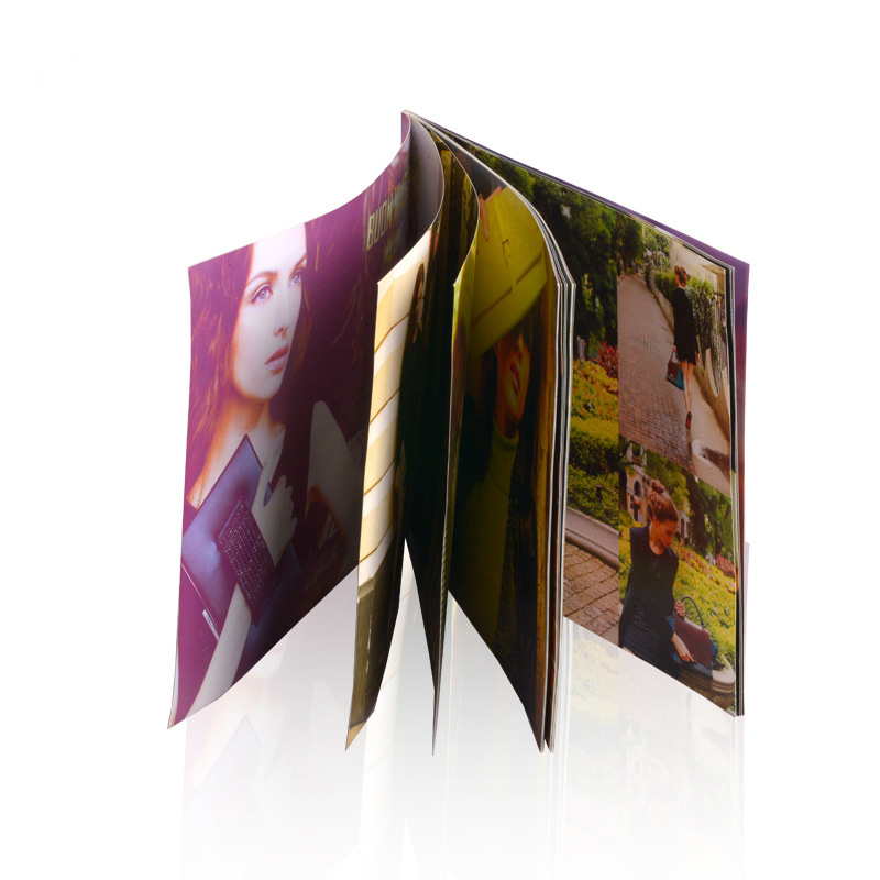 Color offset printing A4 saddle stitching lcd video brochure manual, adult sex magazine,Product publicity catalog