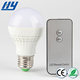 Home convenience e27 light holder smart led bulb with remote controller 5w
