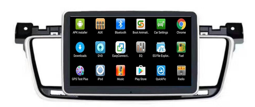 Factory Price!android Auto 6 0 Gps For Car Walmart Auto Stores With  Bluetooth Speaker 4g Radio Usb Dvdplayer For Peugeot 508 - Buy Car Gps  Navigation
