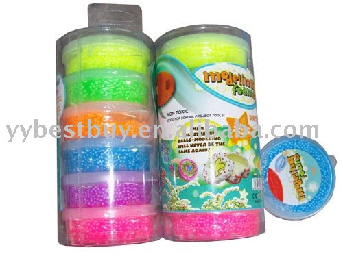 super light foam clay toy set for kids