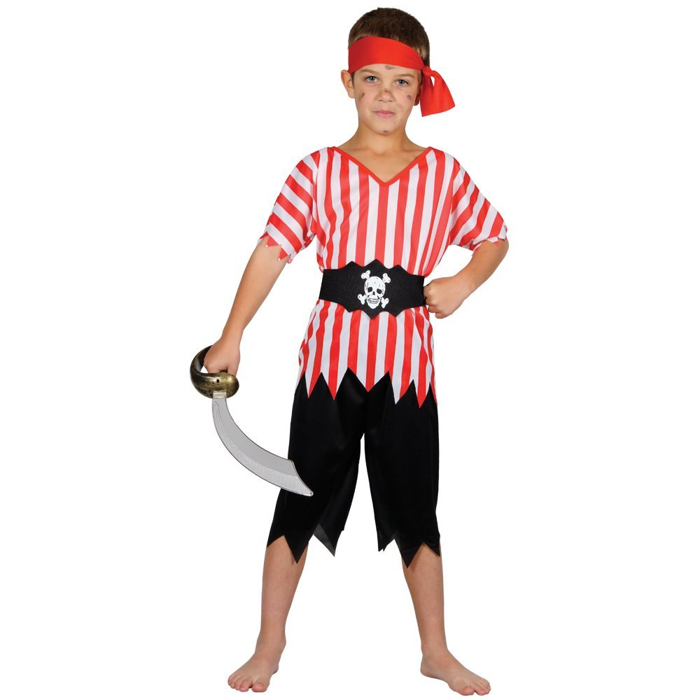 Get Quotations · High Seas Pirate - Kids Costume 3 - 4 years  sc 1 st  Alibaba : pirate kids costumes  - Germanpascual.Com