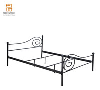 Cheap Single Cot Bed Metal Fame Beds Single Beds for Sale