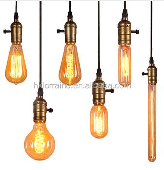 Edison Lamp Holder With Knob Switch Pull Chain Switch Pendant Light Socket Base Buy Edison Lamp Holde Light Socket Base Product On Alibaba Com