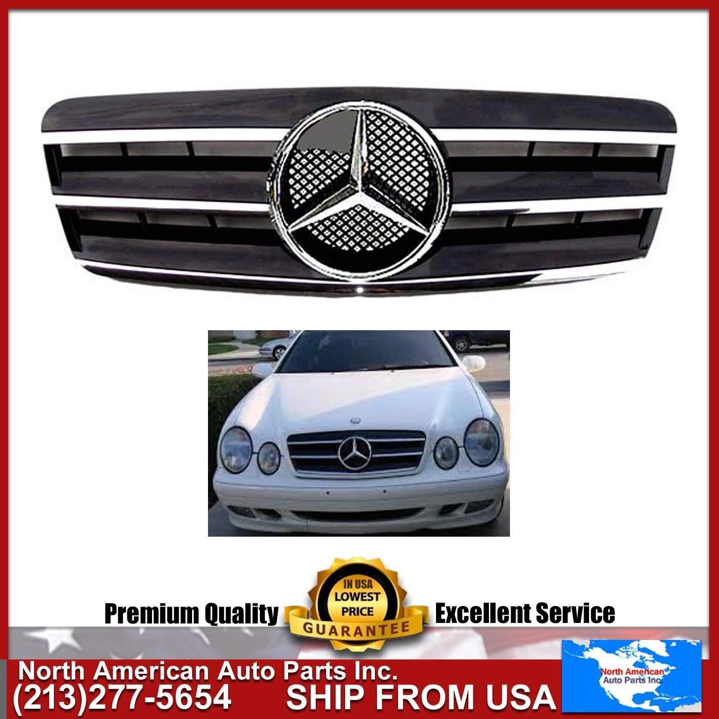 Cheap Benz 320 Clk Find Deals On Line At Alibabacom 1999 Mercedes Ml430 Fuel Filter Get Quotations 98 02 W208 Black Chrome Grille Star Amg Clk320 Clk430 Emblem