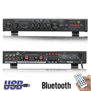 Free Ship 720W 5 Channel bluetooth HiFi Stereo Amplifier LED Digital Karaoke Home Cinema Home Theater Amplifiers Home Amplifiers