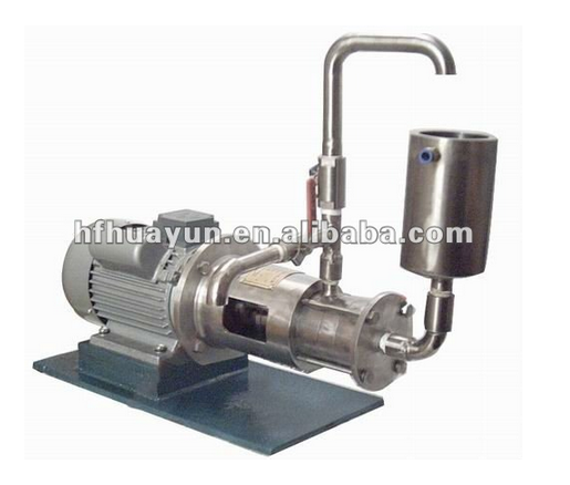 Lab high speed emulsifying Mixer, cosmetic homogenizer, dispersing dissolver