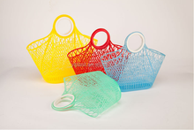 PE plastic vegetable fruit shopping basket