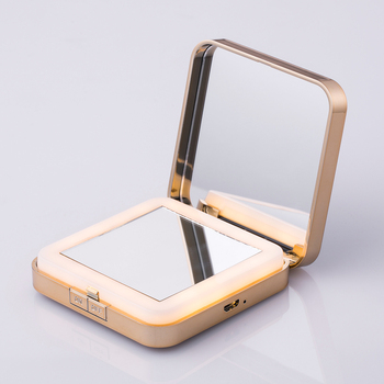 Portable handheld pocket 36 led illuminated makeup led mirror