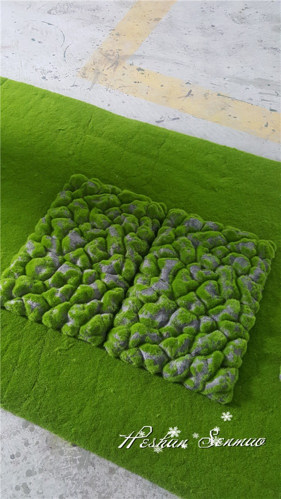artificial moss turf fake moss grass wall for wall decoration