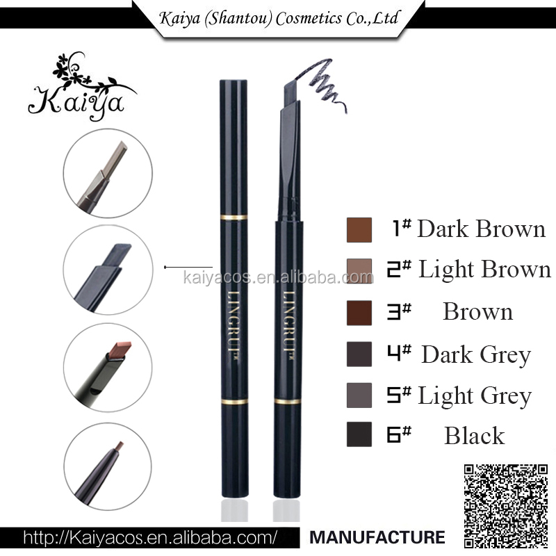 OEM Cosmetic Makeup Toiletry Sample Free Eyebrow Pencil eye Liner Pencil Waterproof Eyebrow Pencil